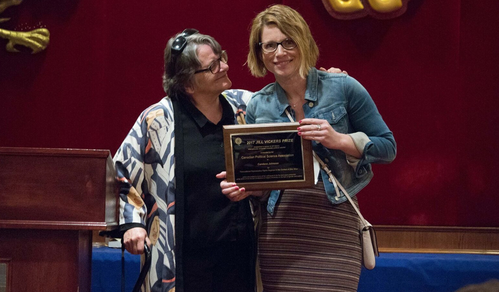 2017 Jill Vickers Prize