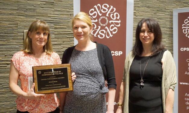 2016 CPSA Prize in Comparative Politics