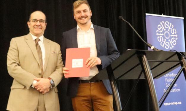 2019 Vincent Lemieux Prize