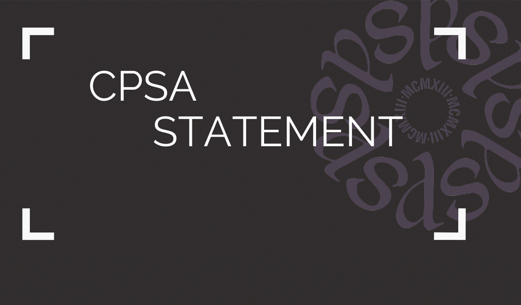 2020 CPSA Cancellation – UPDATE from CPSA President Barbara Arneil
