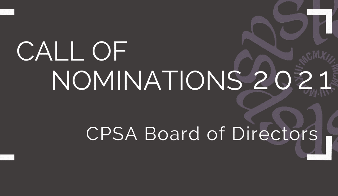 2021 Call for Nominations